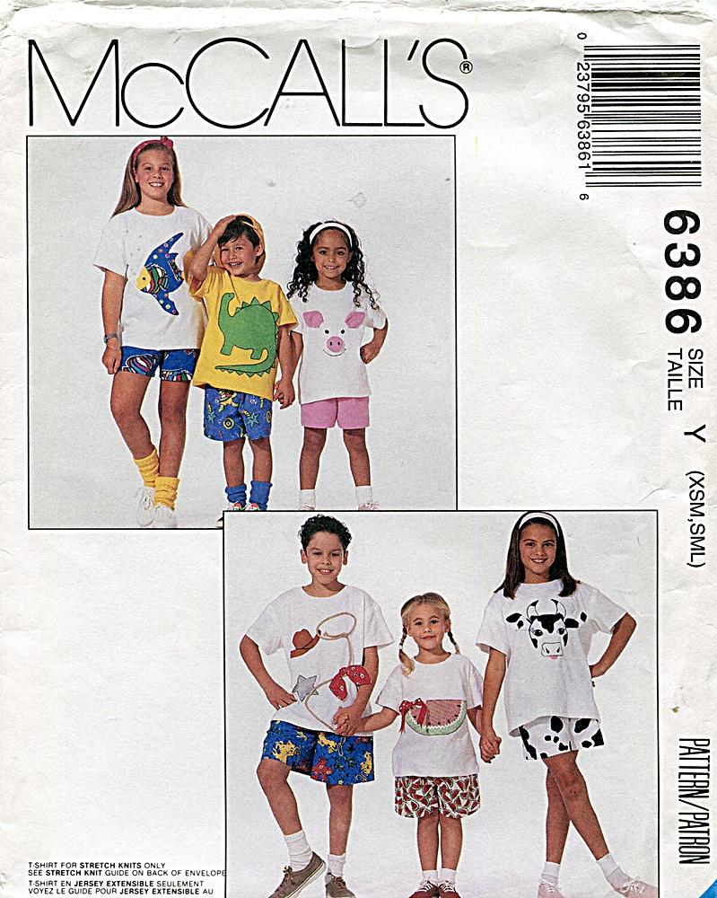 McCall's 6386 A
