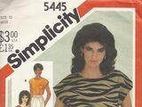 Simplicity 5445 A