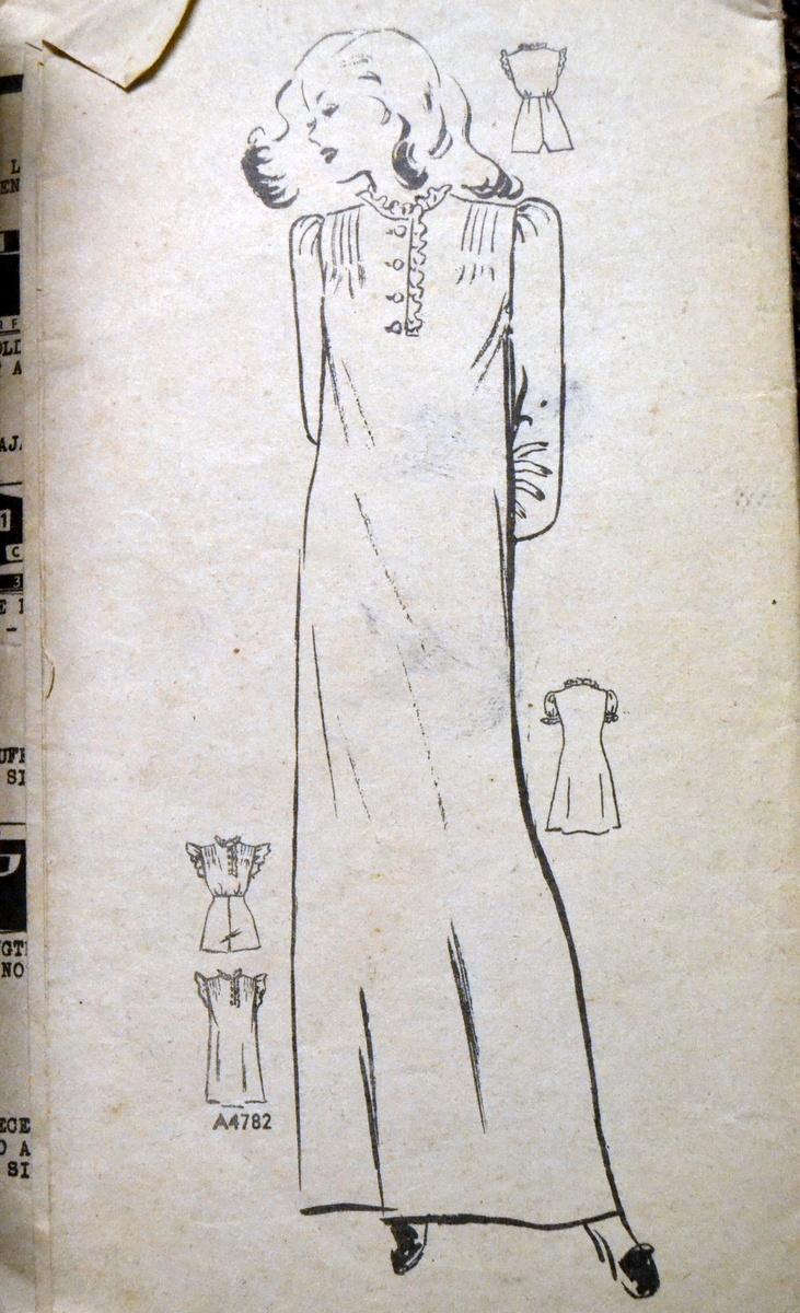Anne Adams 4782 B