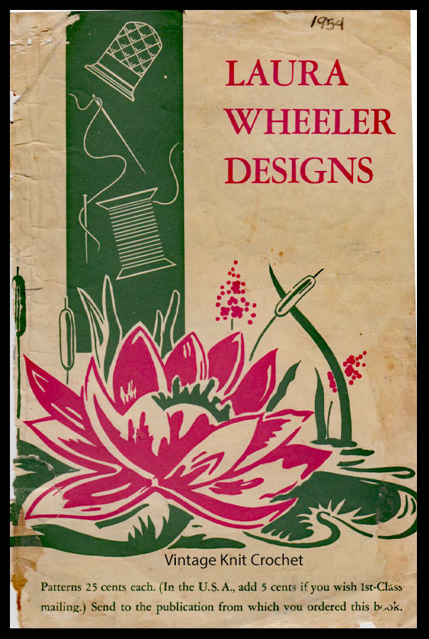 Laura Wheeler Designs Catalog 1954