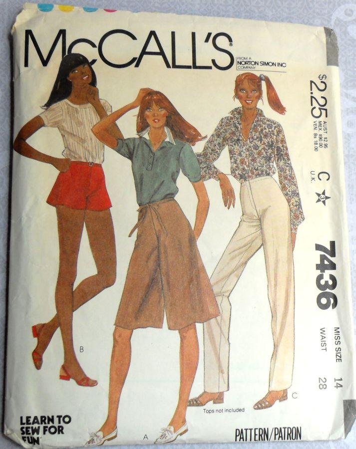 McCall's 7436 A