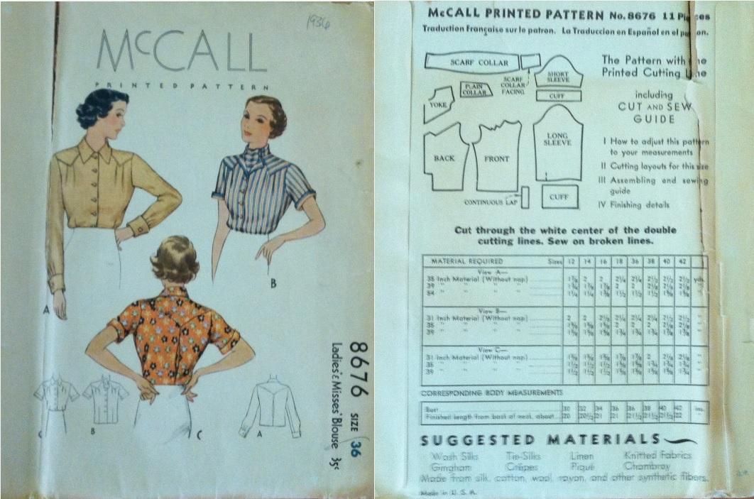 McCall 8676
