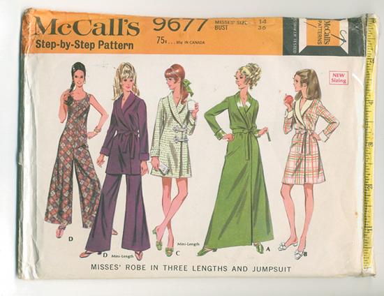 McCall's 9677 A