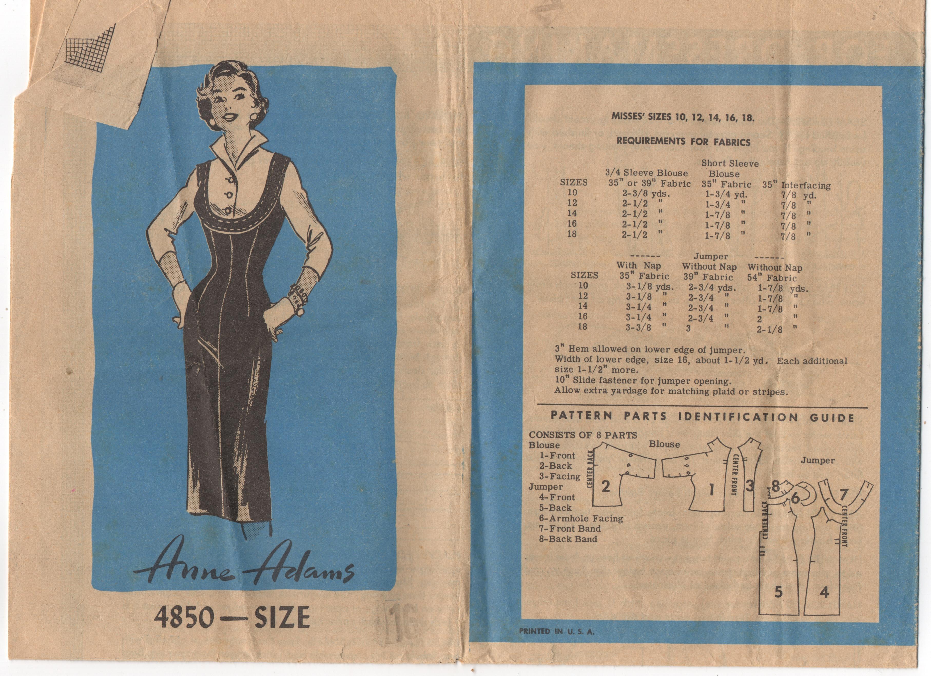 Anne Adams 4850