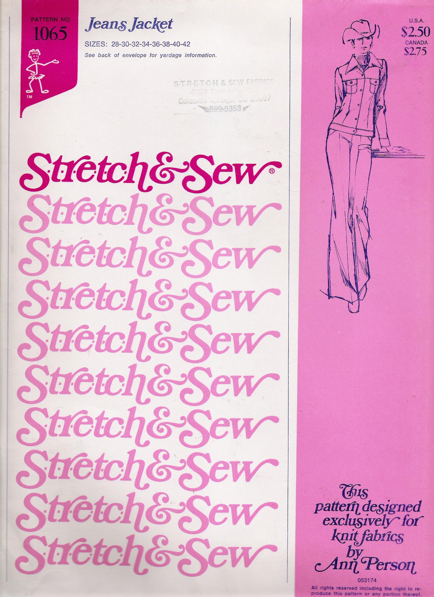 Stretch & Sew 1065