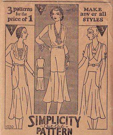 Simplicity 1030 A
