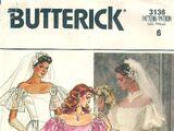 Butterick 3136 A