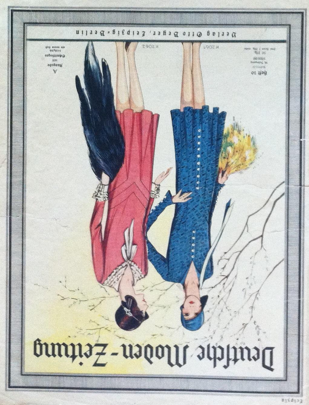 Deutsche Moden-Zeitung No. 10 Vol. 38 1928/29