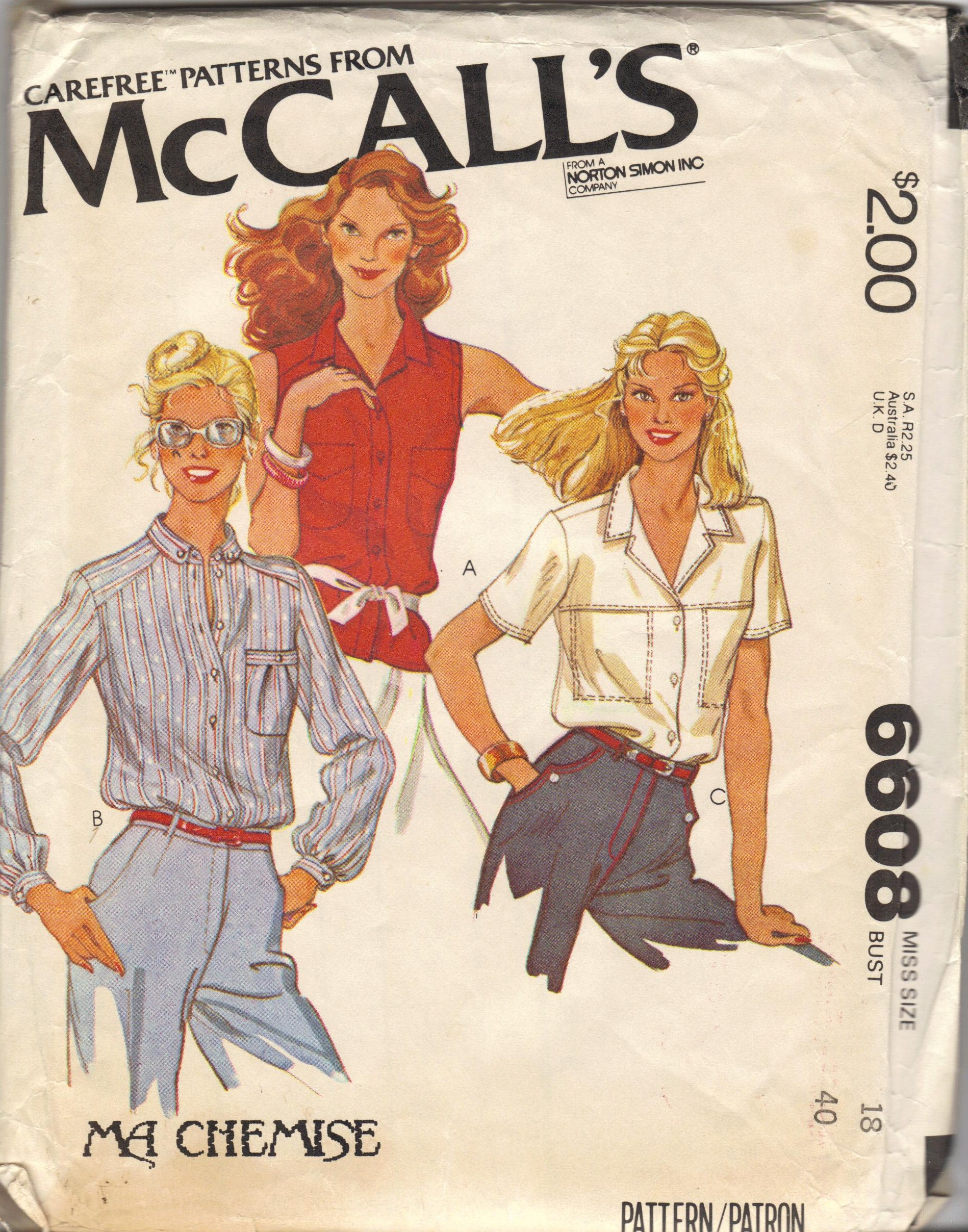 McCall's 6608 A