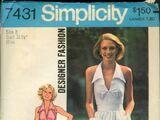 Simplicity 7431