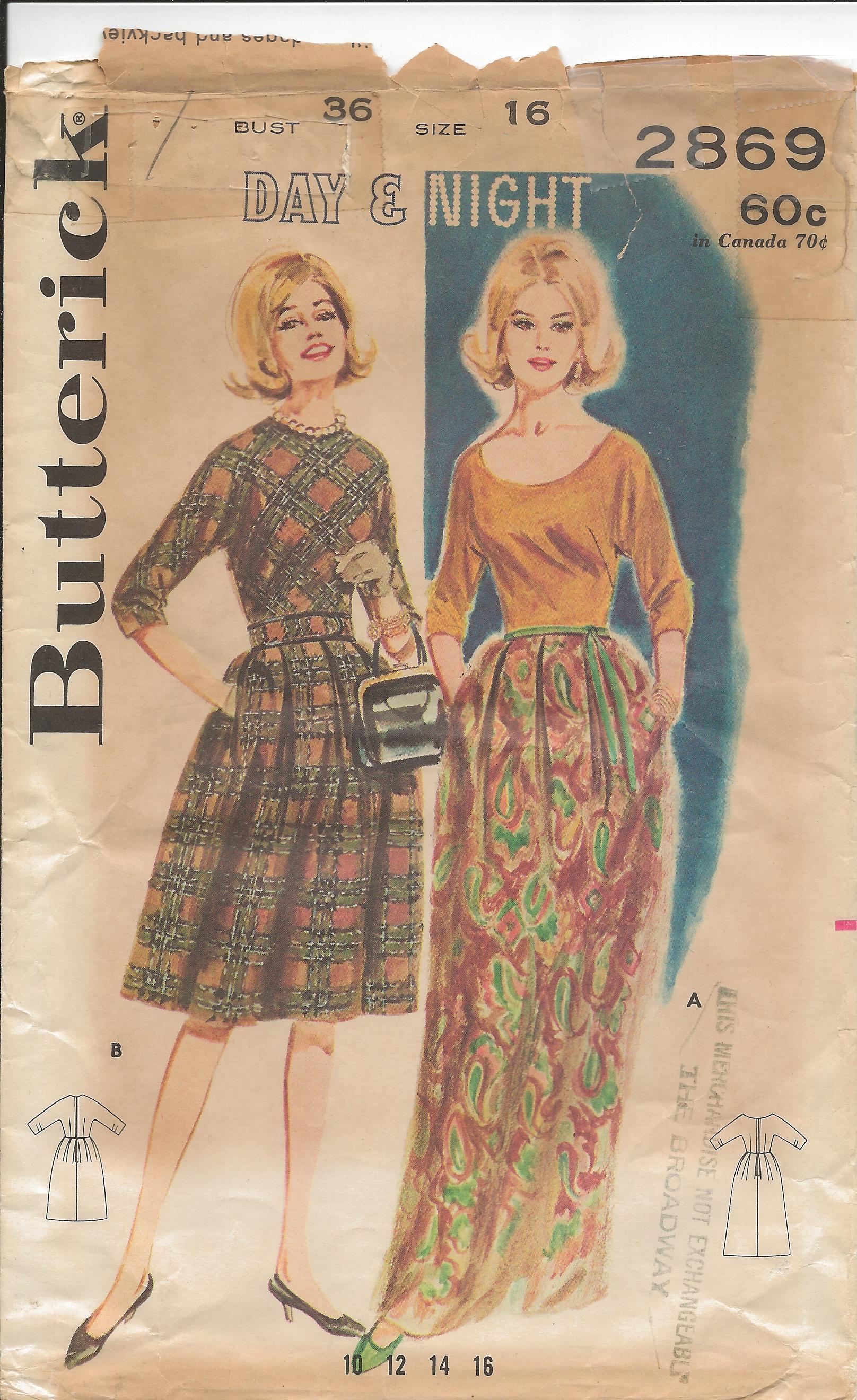 Butterick 2869