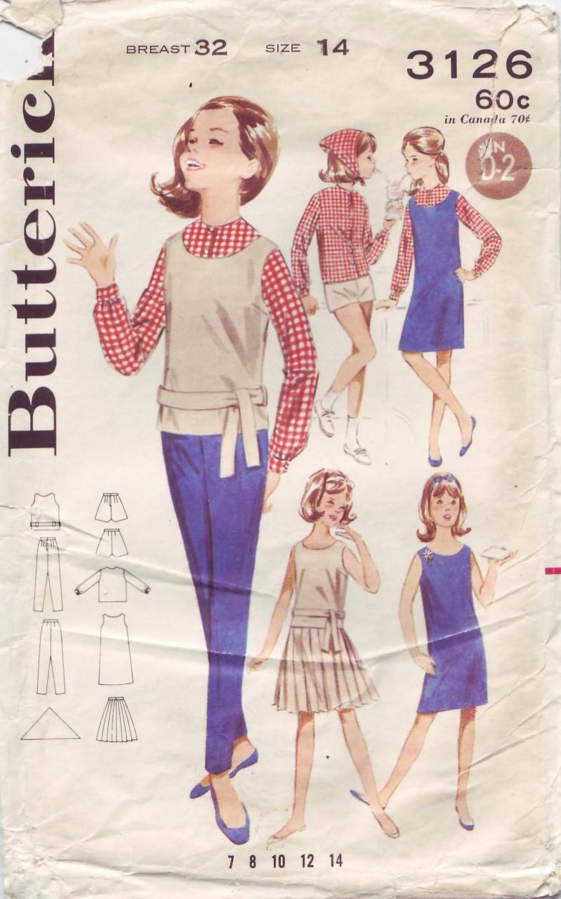 Butterick 3126