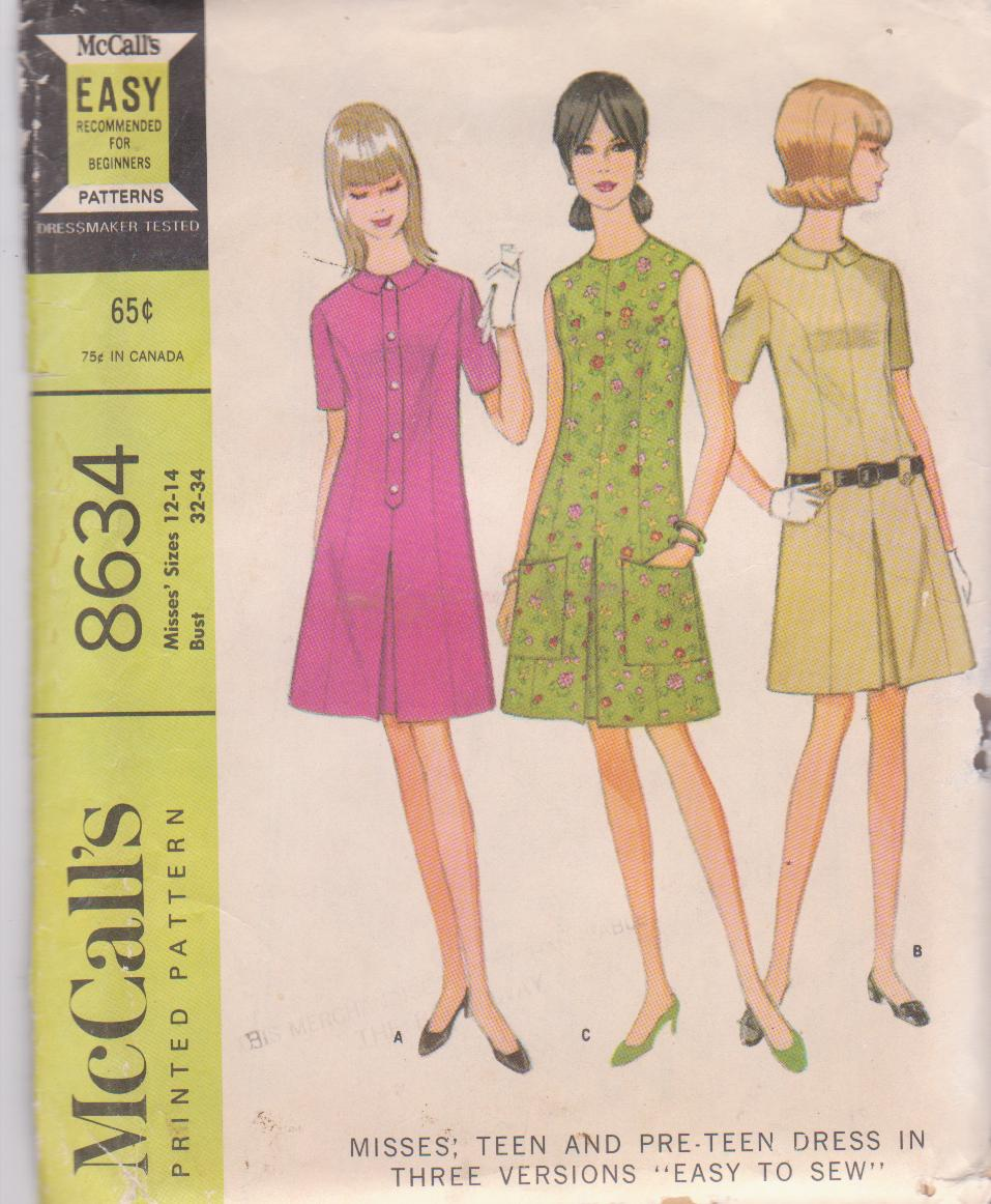 McCall's 8634 A