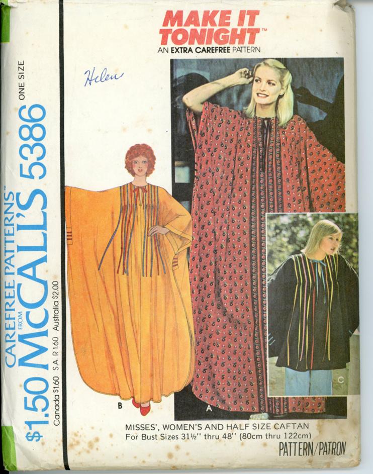 McCall's 5386