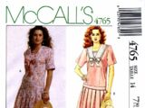 McCall's 4765