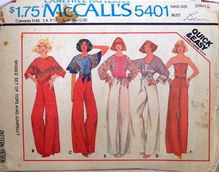 McCall's 5401
