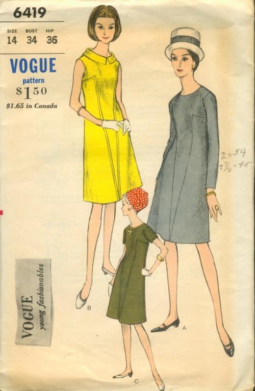 Vogue 6419 A