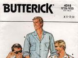 Butterick 4315 B