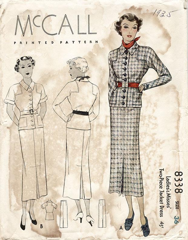 McCall 8338 A