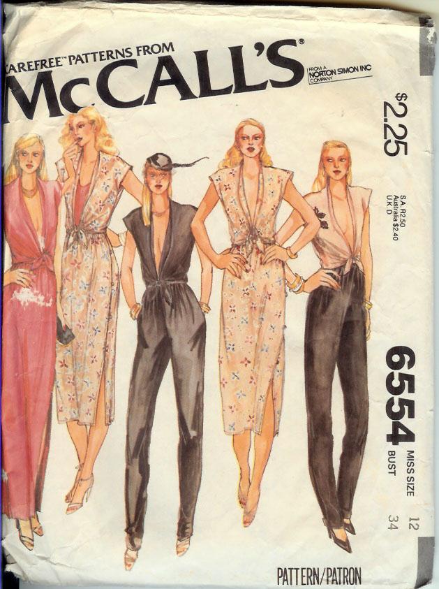 McCall's 6554