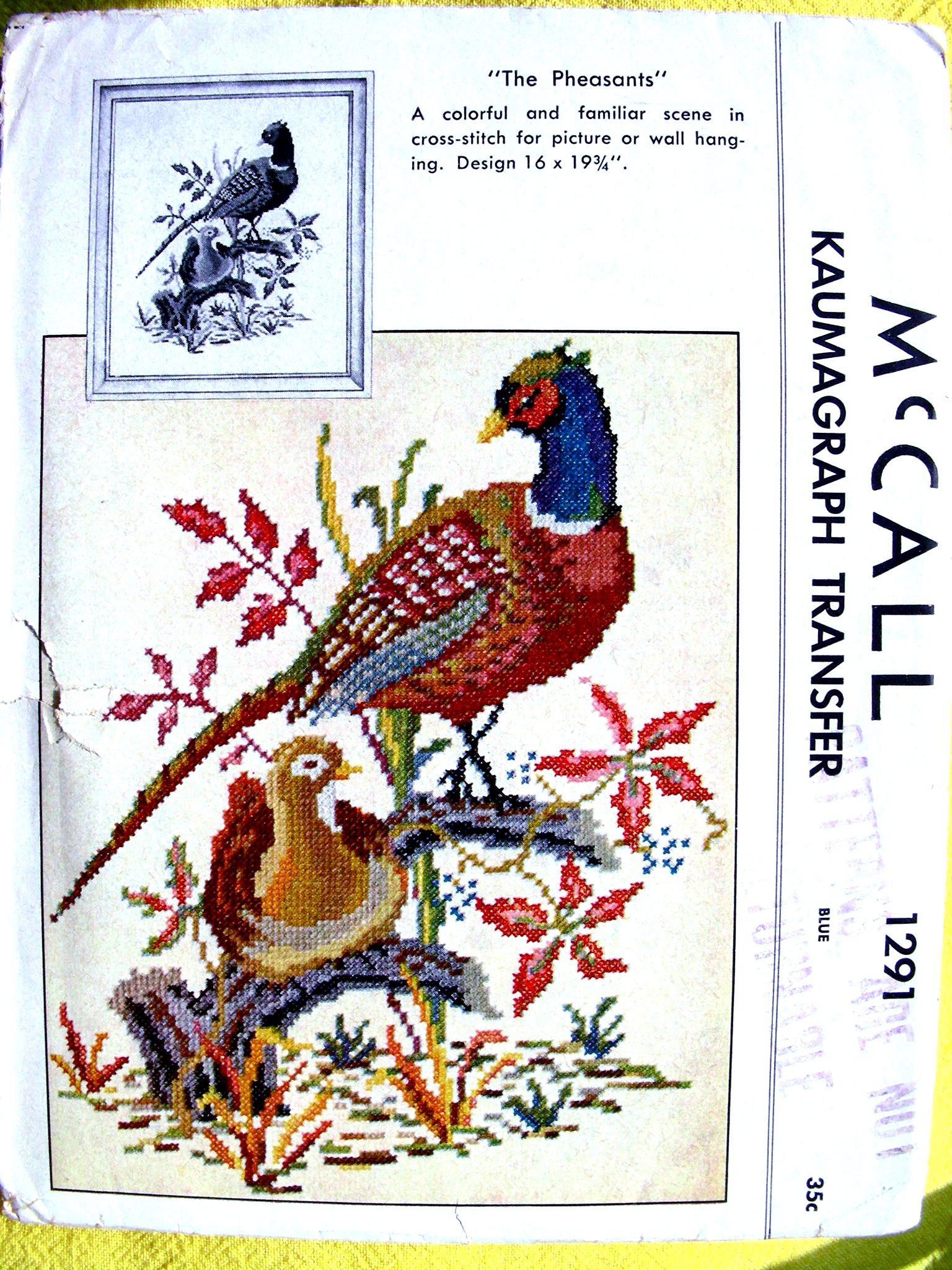 McCall 1291
