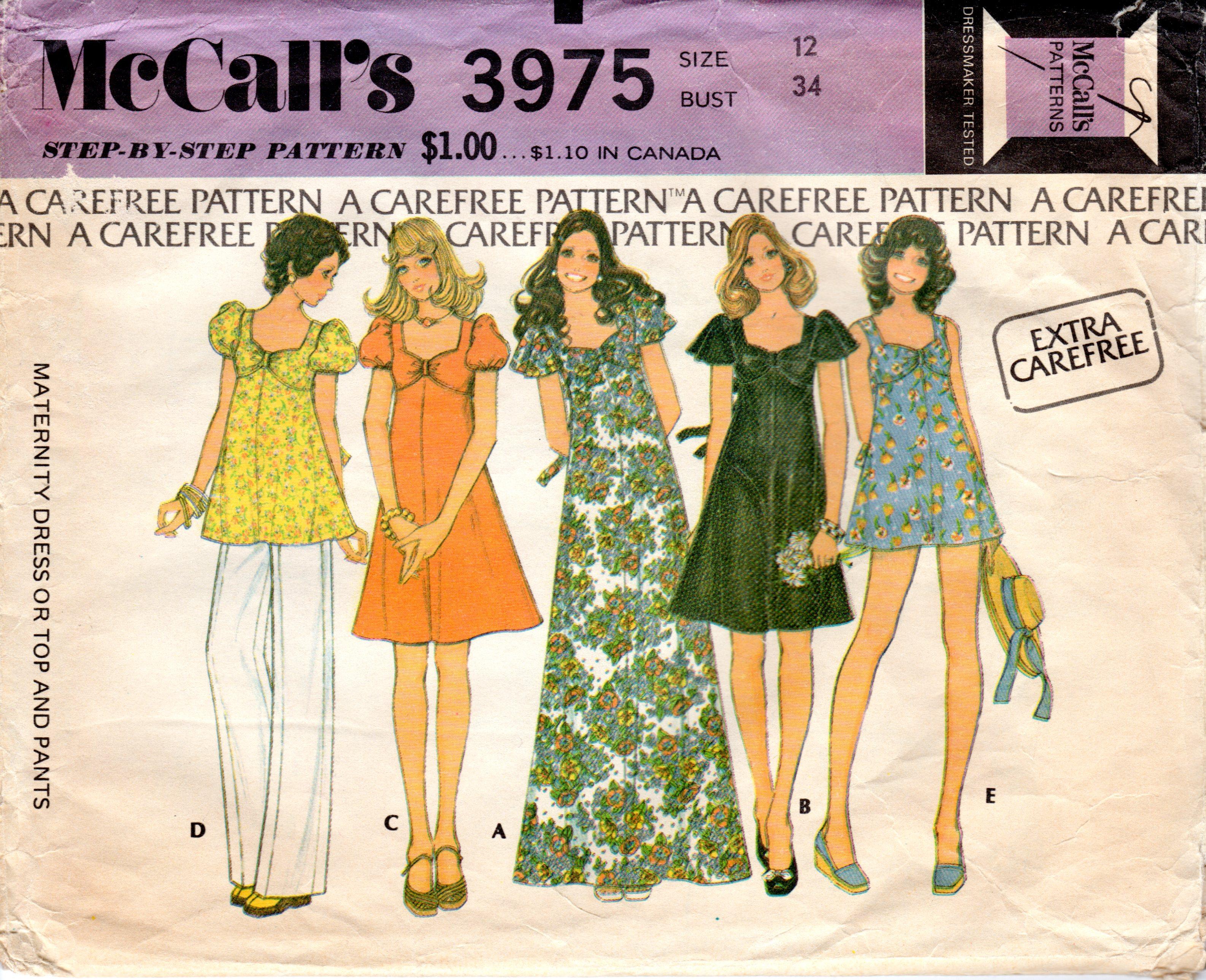 McCall's 3975