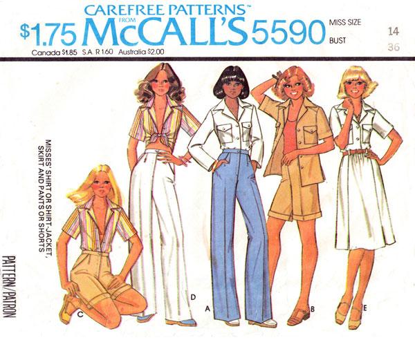 McCall's 5590 A