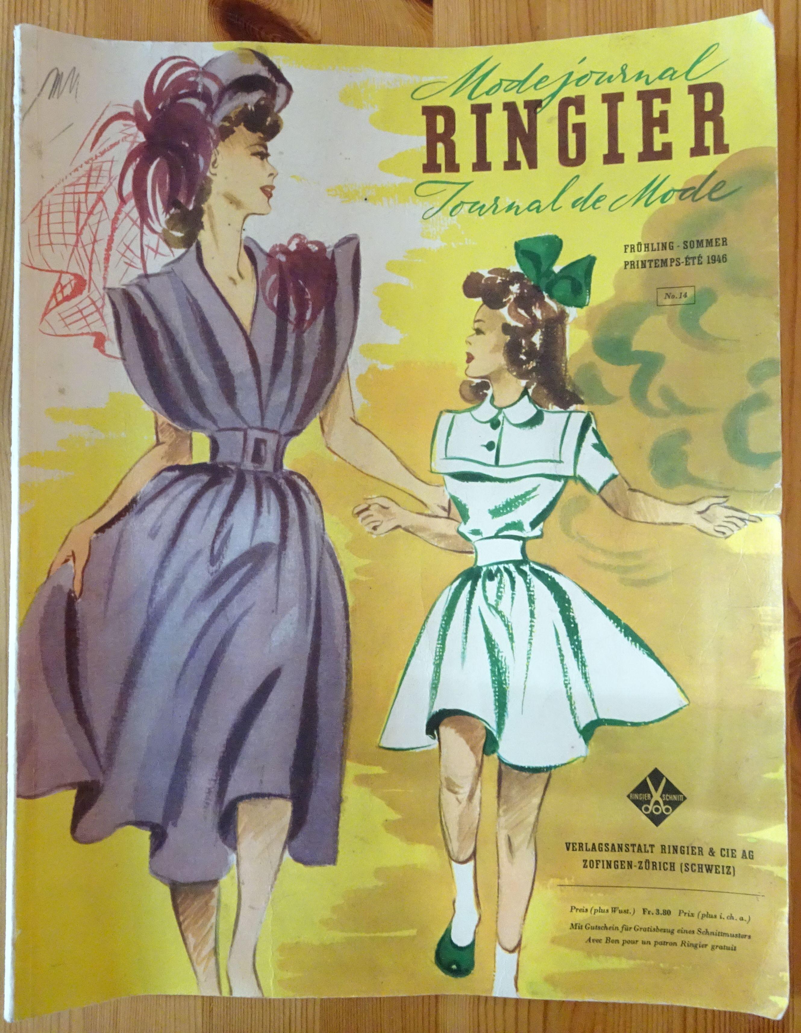 Ringier Journal de Mode Spring/Summer 1946