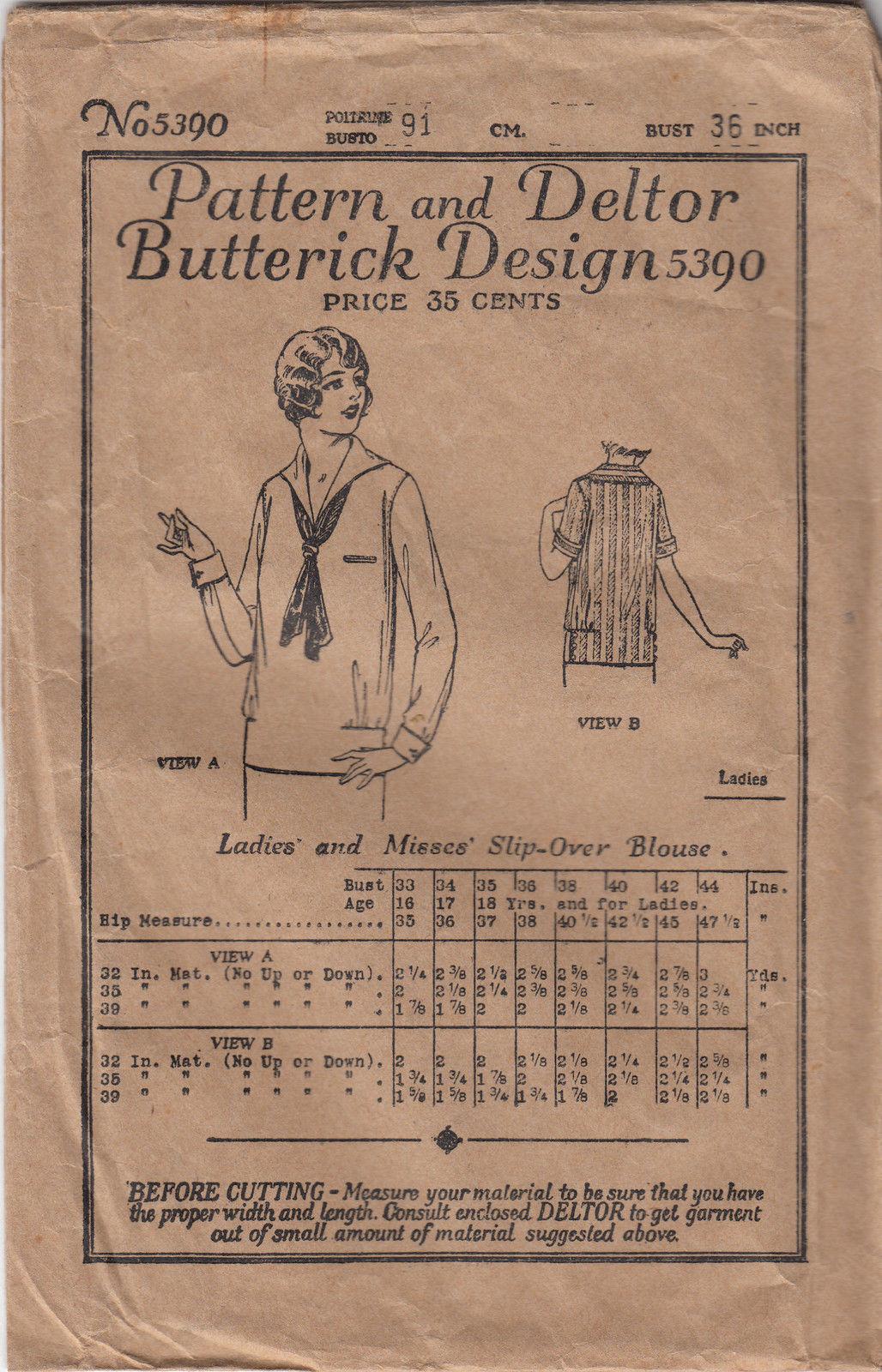 Butterick 5390 C