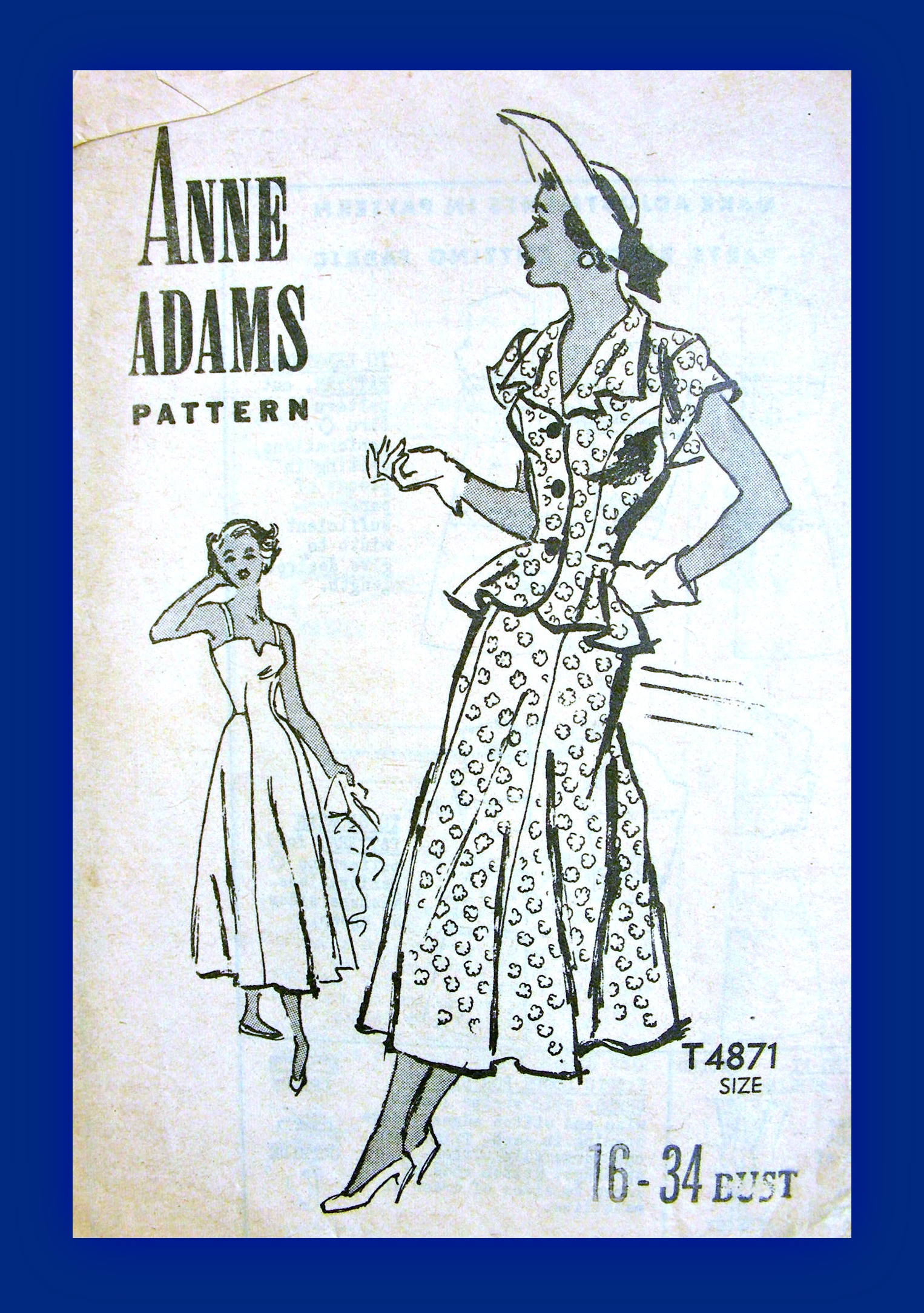 Anne Adams T4871