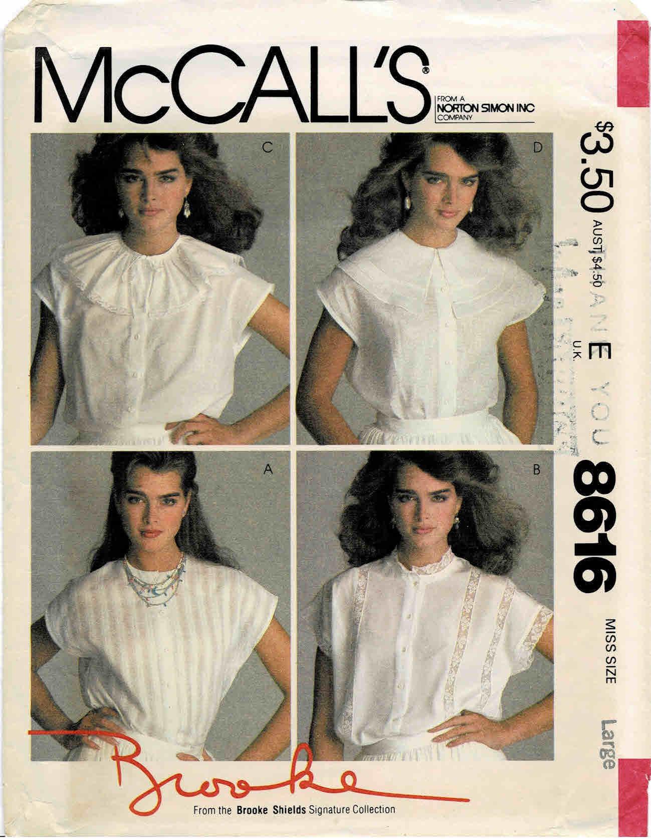 McCall's 8616 B