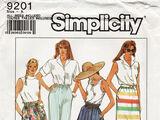 Simplicity 9201 A