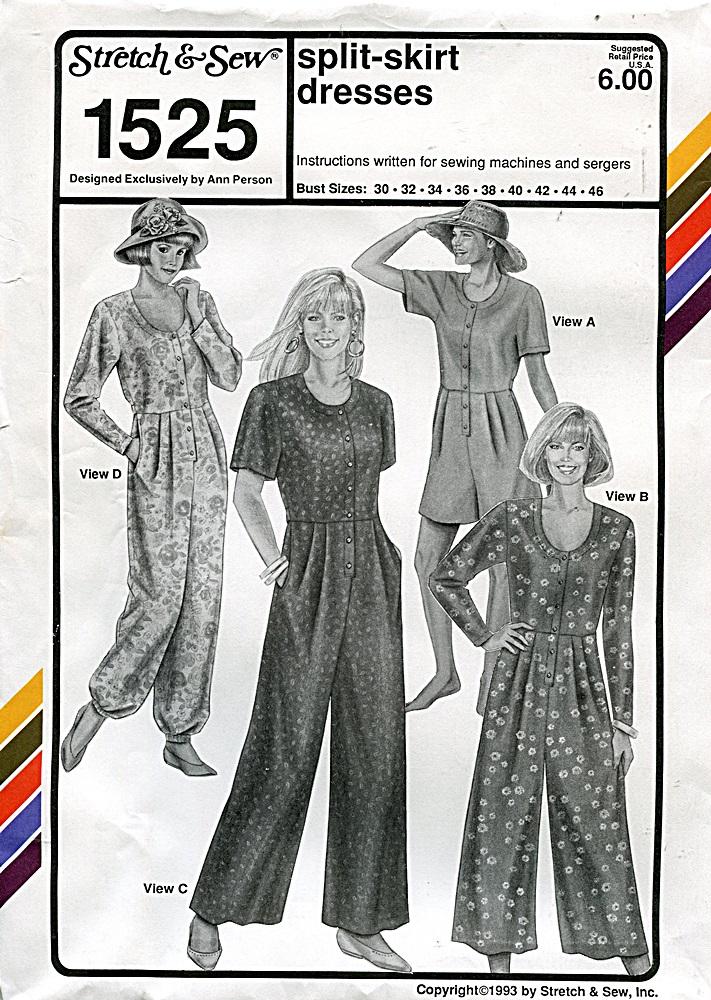 Stretch & Sew 1525 A