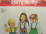 Simplicity 7156 A