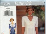 Butterick 3359 A