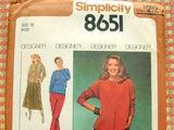 Simplicity 8651 A