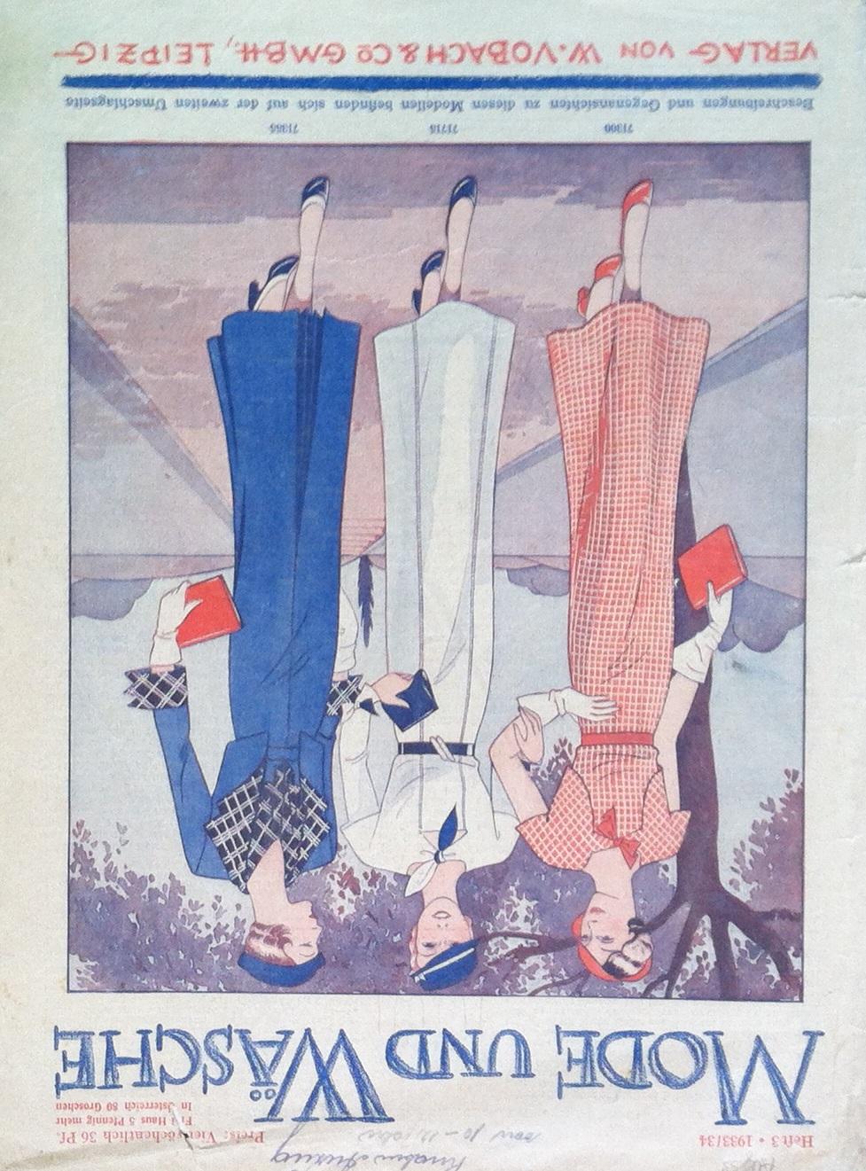 Mode und Wäsche No. 3 1933/34