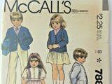 McCall's 7882 A