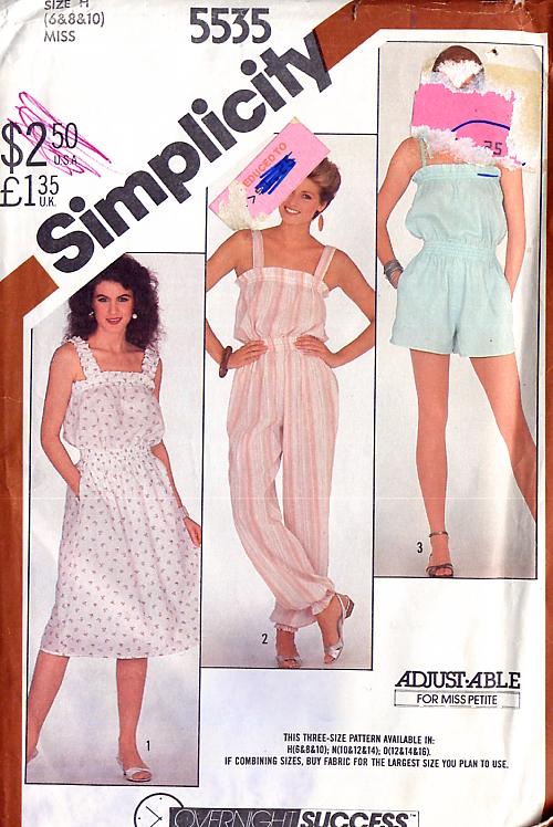 Simplicity 5535 A