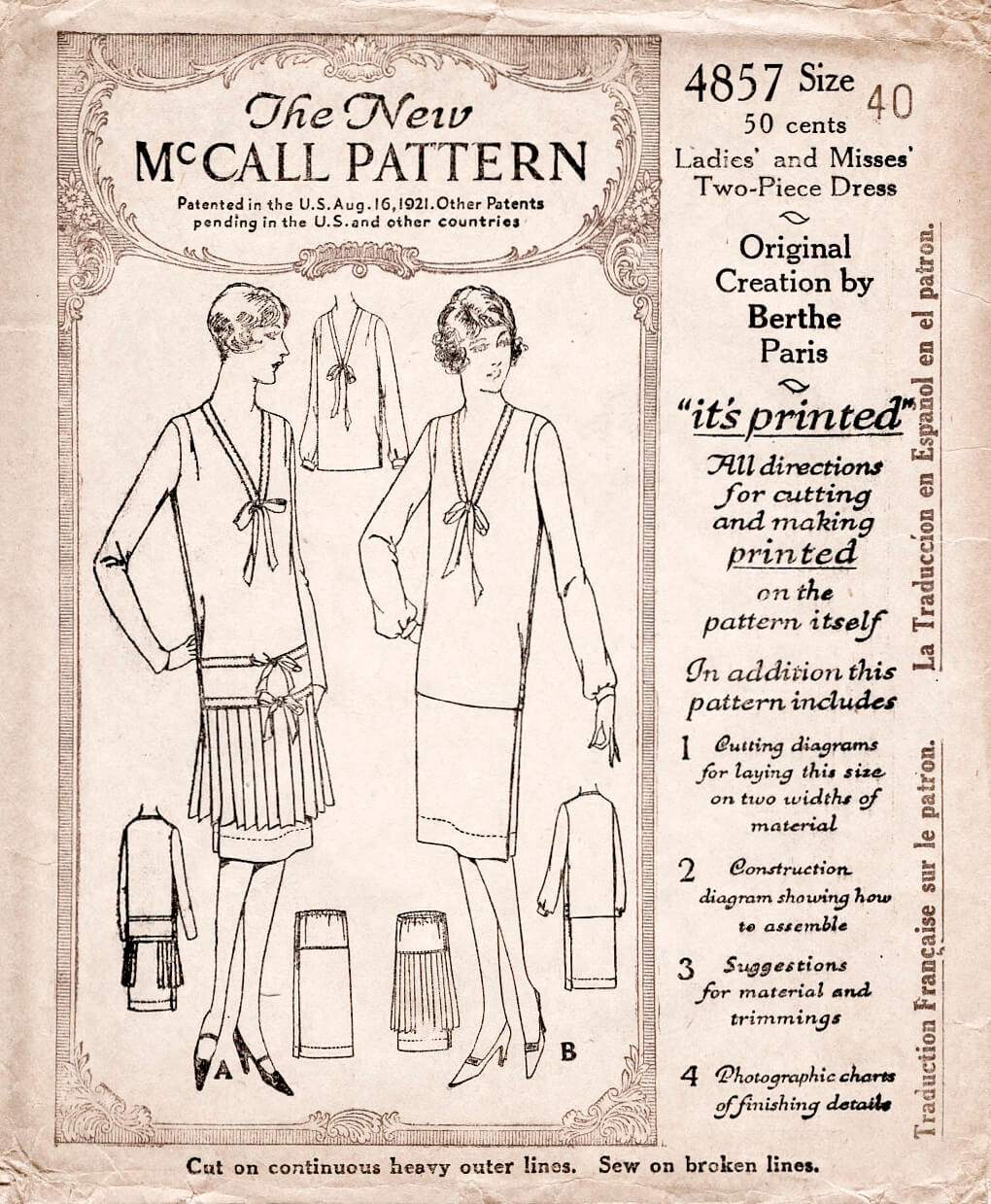 McCall 4857