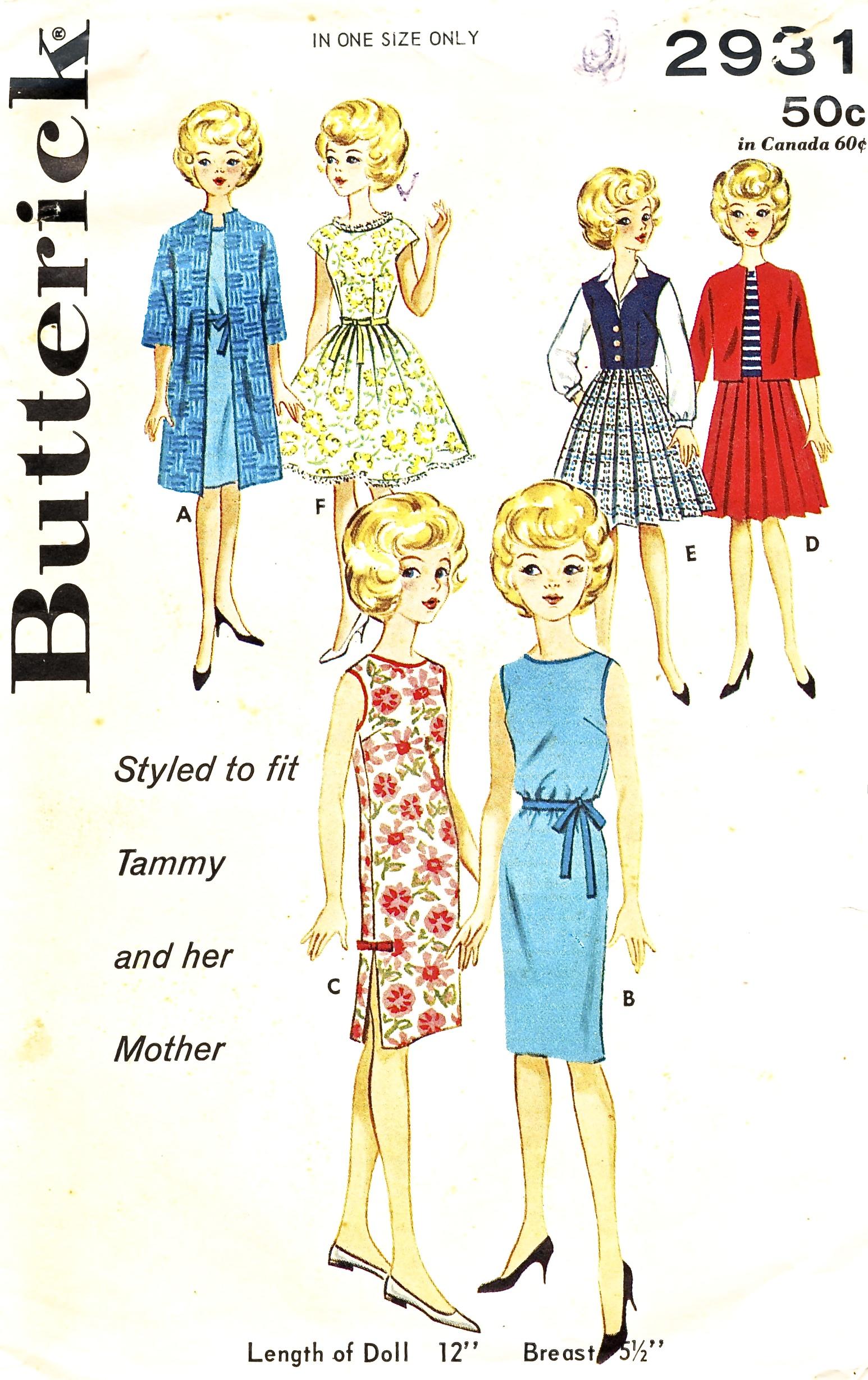 Butterick 2931