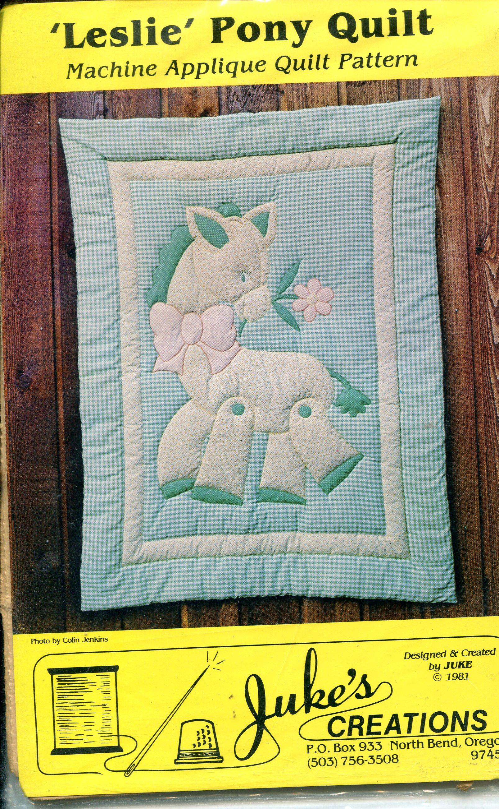Juke's Creations Leslie Pony Quilt