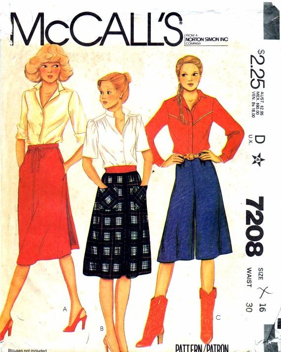McCall's 7208 A