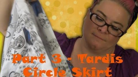 Tardis Full 50s Circle Skirt (Part 3) - So Sew Vintage