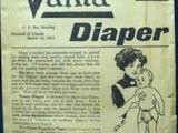 Vanta Diaper Pattern