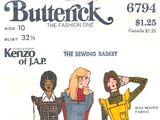 Butterick 6794 A