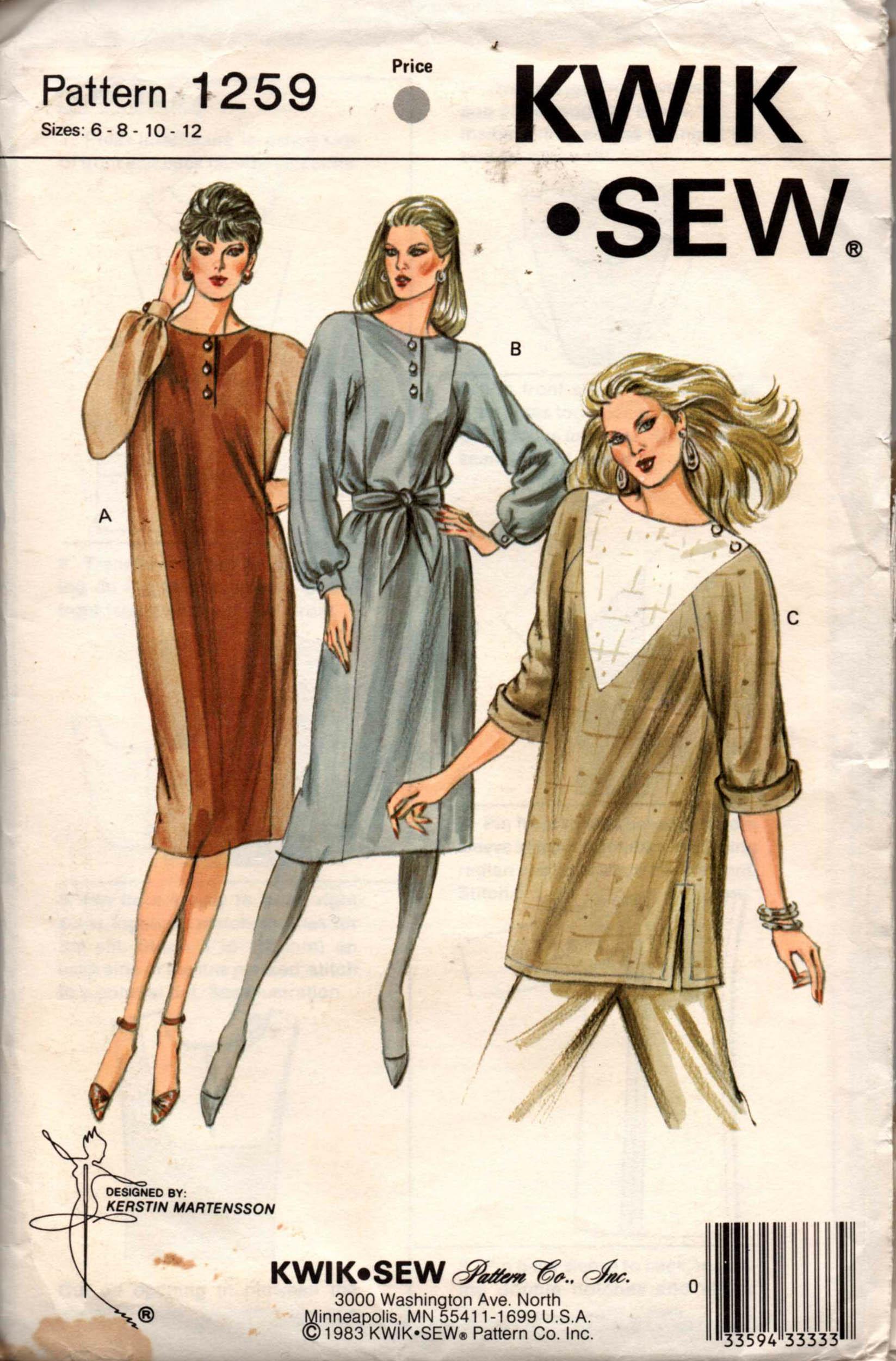 Kwik Sew 1259