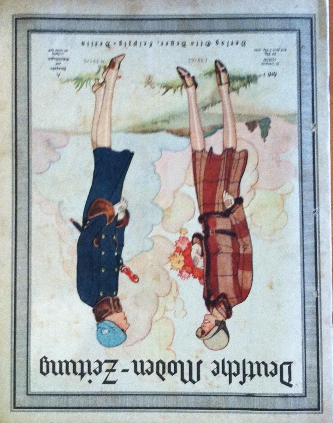 Deutsche Moden-Zeitung No. 1 Vol. 38 1928/29