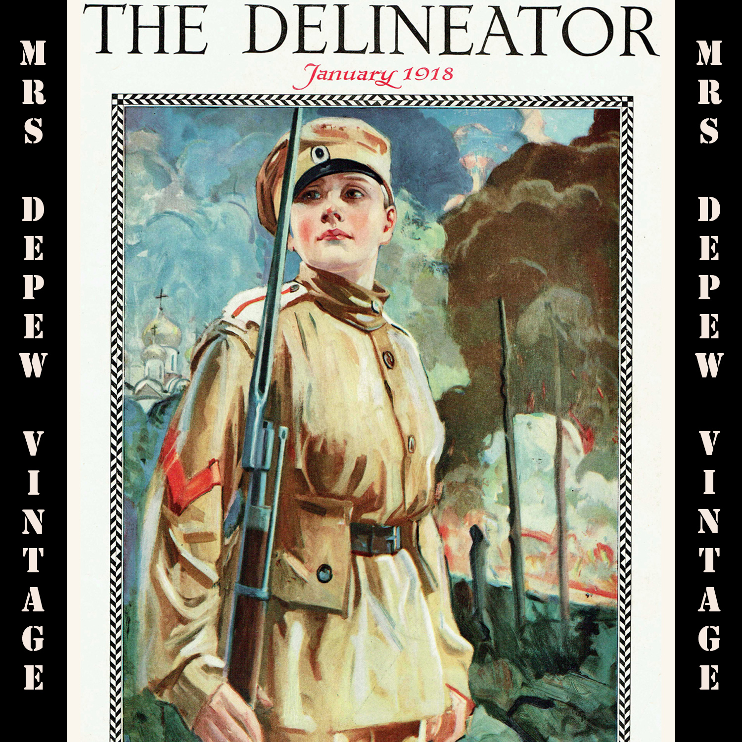 The Delineator January 1918