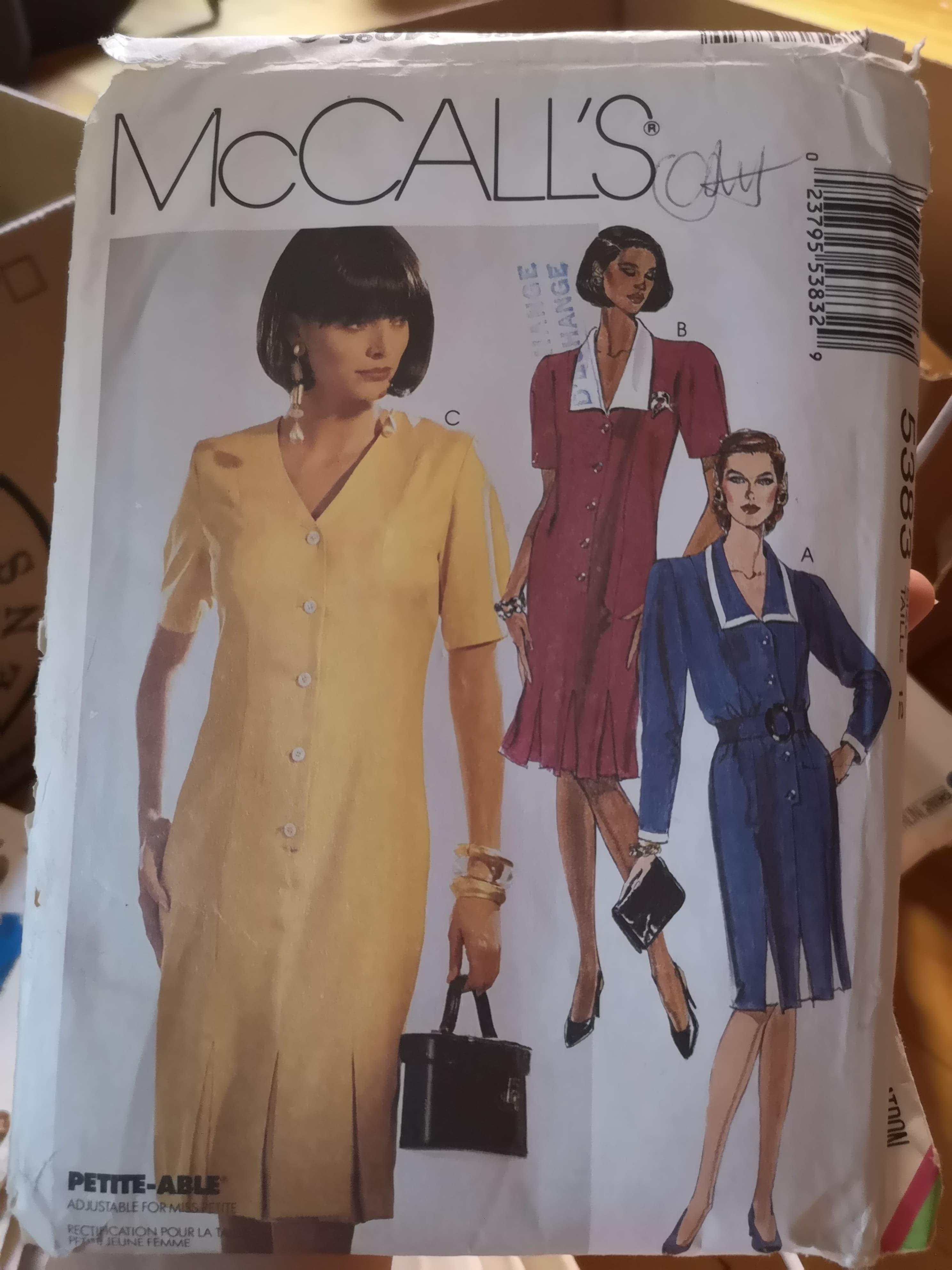 McCall's 5383 B